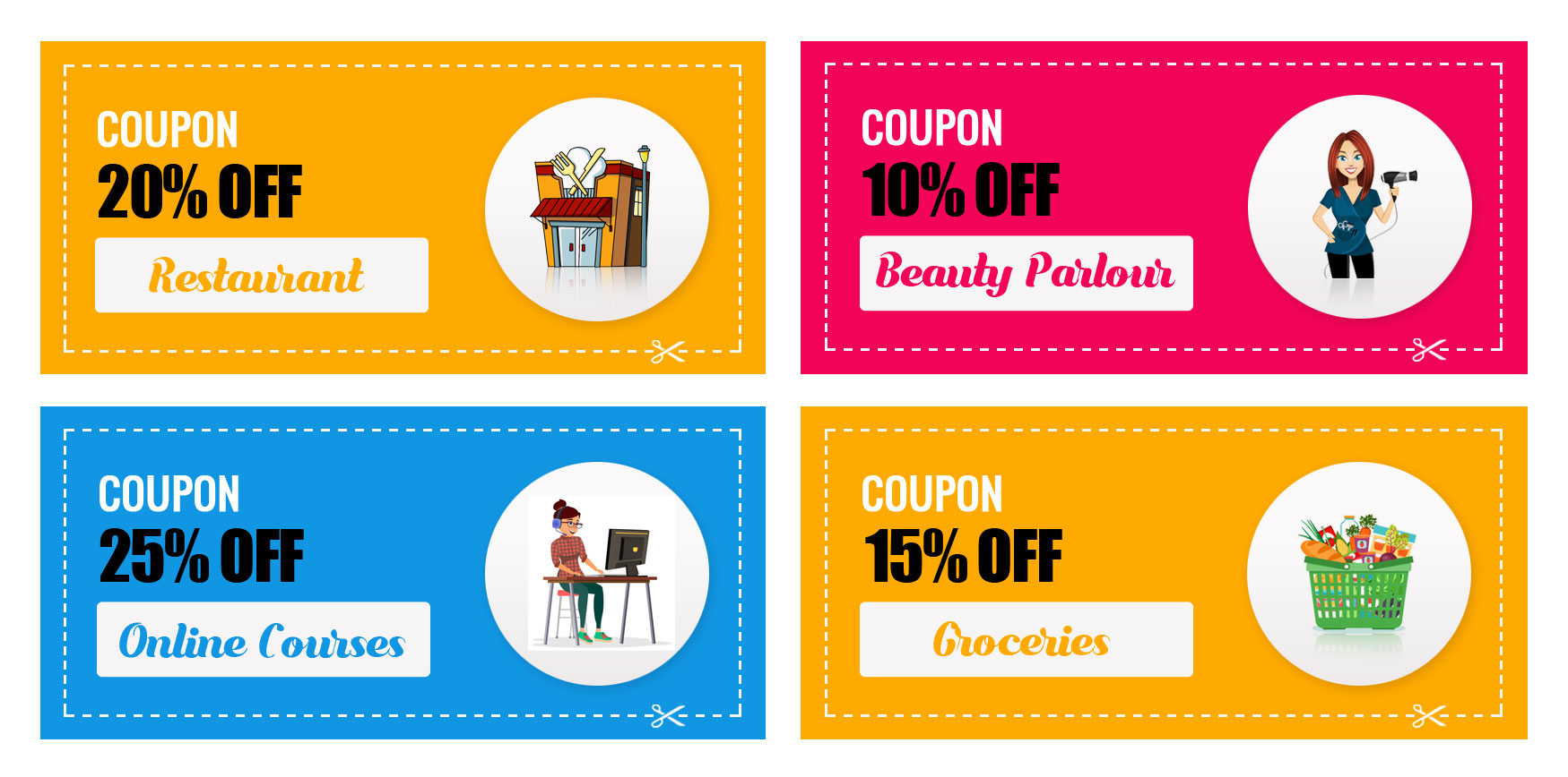 Our  Coupon Services